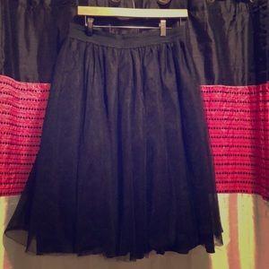 Dresses & Skirts - Black Tulle Skirt